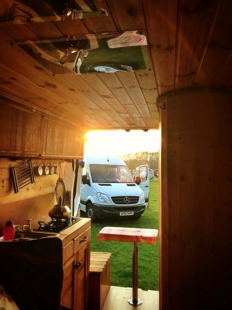 7 tips for hiring a converted van for the first time. Which van we chose for Camp Quirky and why.