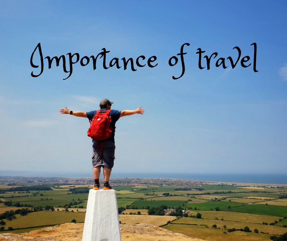 Importance of travel - Facebook